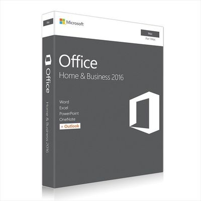 중국 Office Home and Business 2016 for MAC Download 대리점