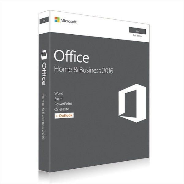 Microsoft MAC Office 2016 Home and Business Web Download Directly